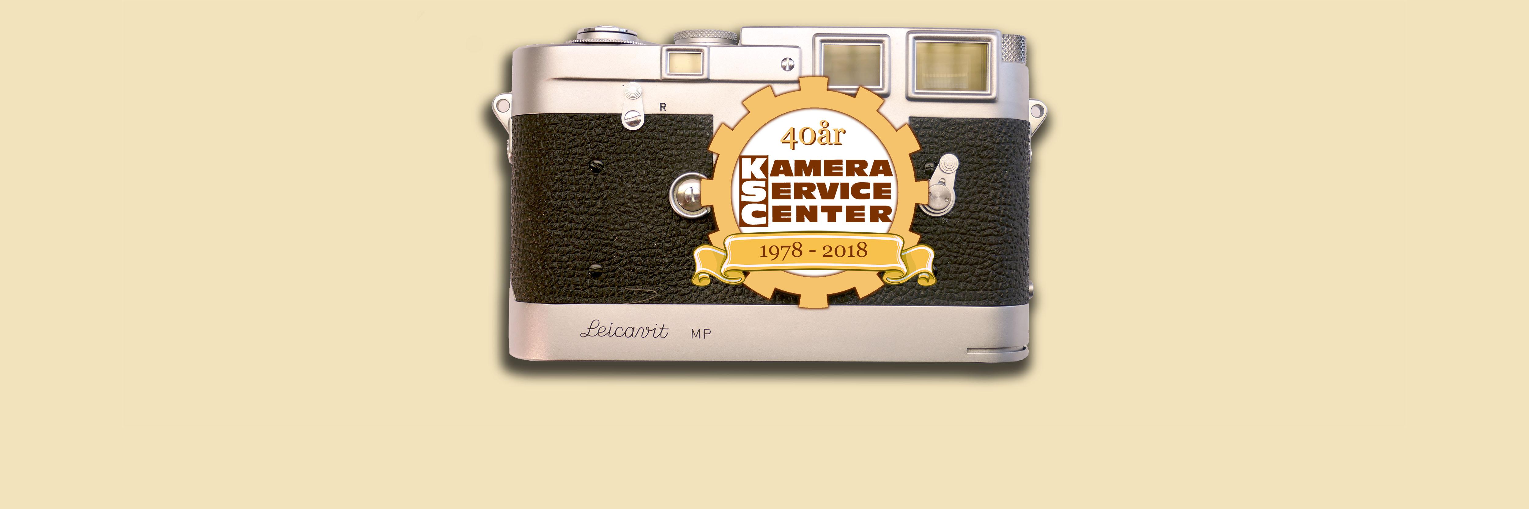 2018 fyllde Kamera Service Center 40 år!